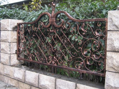 Забор кованый ЗБК34