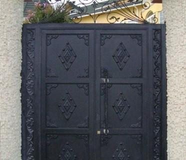 Ворота кованые ВК58