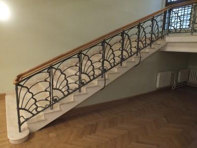 Кованые перила лестничные ПЕРК 148