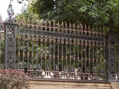 Забор кованый ЗБК20