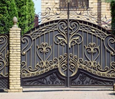 Кованые ворота ВК63