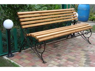 Кованая скамейка ЛАВ4