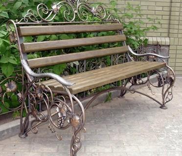 Кованая мебель ЛАВ6