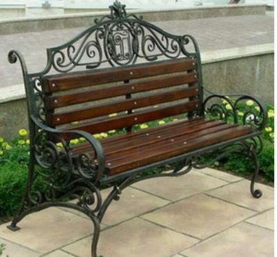 Кованая скамейка ЛАВ8