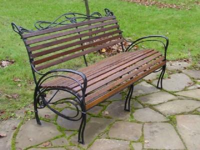 Кованая скамейка ЛАВ9