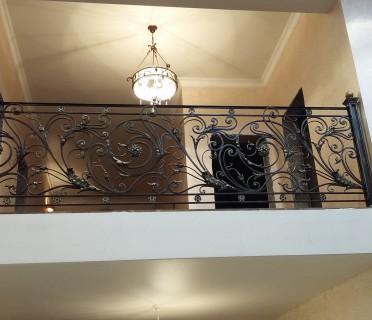 Ограждение кованое для балкона БК67