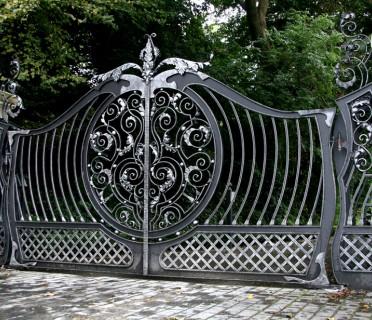 Кованые ворота ВК59