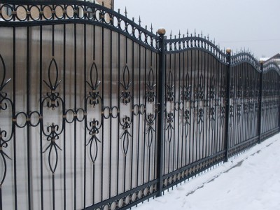 Забор кованый ЗБК22