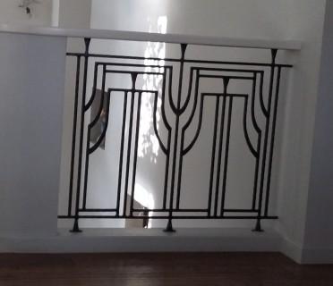 Кованые перила лестничные ПЕРК105