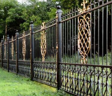 Забор кованый ЗБК23