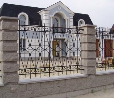 Забор кованый ЗБК25