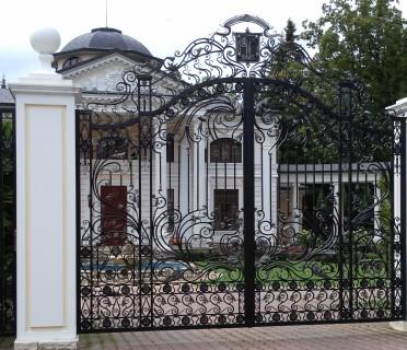 Кованые ворота ВК60