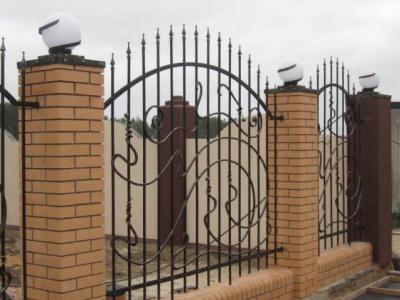 Кованые ворота ВК71