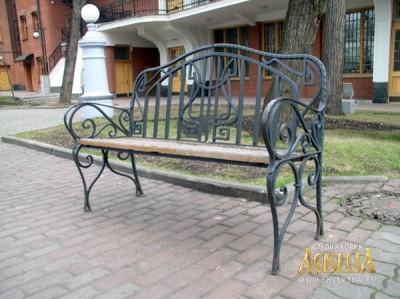Кованая мебель ЛАВ 7211