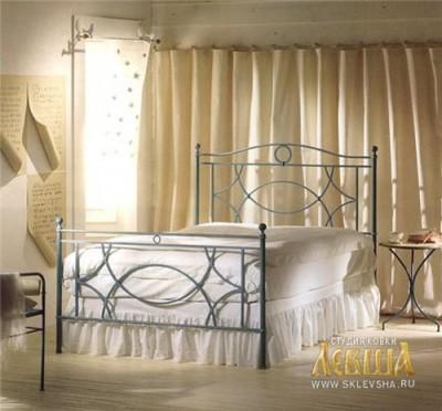 Кованая кровать 7402