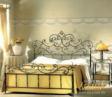 Кованая кровать 7404