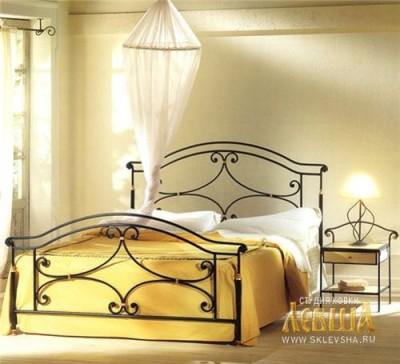 Кованая кровать 7405