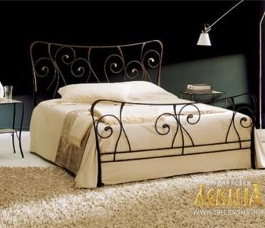 Кованая кровать 7411