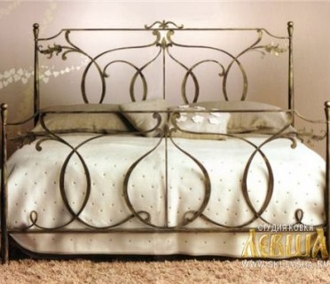 Кованая кровать 7417