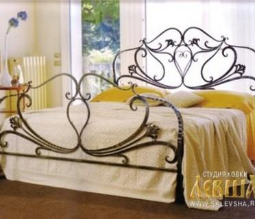 Кованая кровать 7418