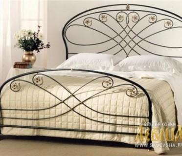 Кованая кровать 7429