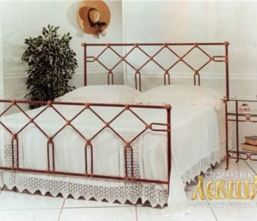 Кованая кровать 7433