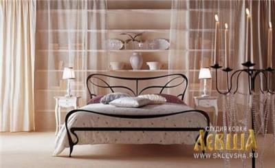 Кованая кровать 7437