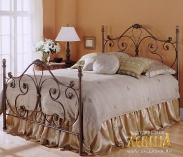 Кованая кровать 7447