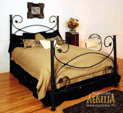 Кованая кровать 7448