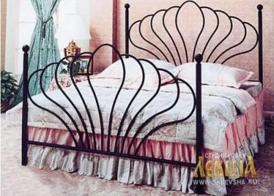 Кованая кровать 7451