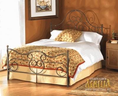 Кованая кровать 7463