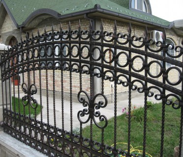 Забор кованый ЗБК28