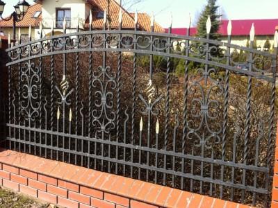 Забор кованый ЗБК29