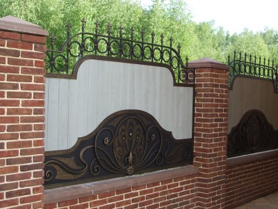 Забор кованый ЗБК30