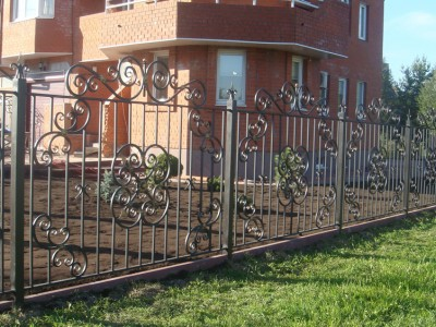 Забор кованый ЗБК31
