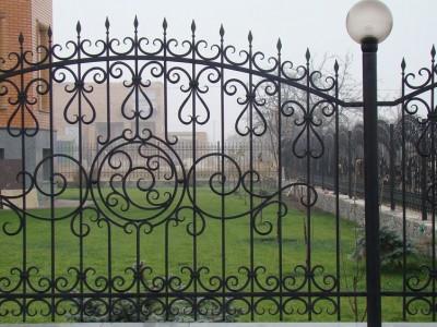 Забор кованый ЗБК33
