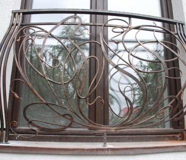 Ограждение кованое для балкона БК70