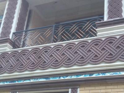 Ограждение кованое для балкона БК69
