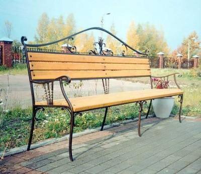Кованая мебель ЛАВ12