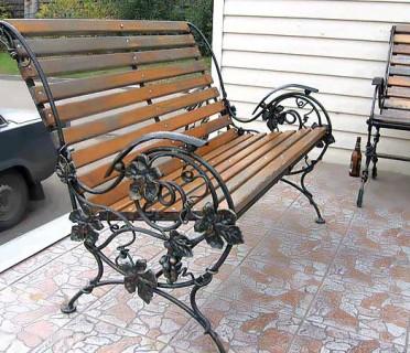 Кованая мебель ЛАВ13