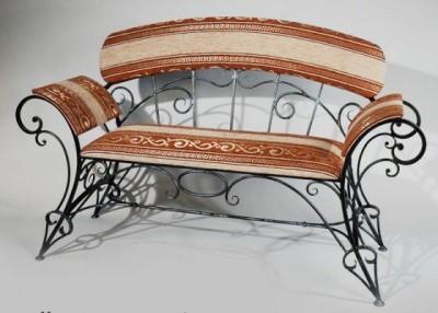 Кованая скамейка ЛАВ18
