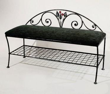 Кованая скамейка ЛАВ22