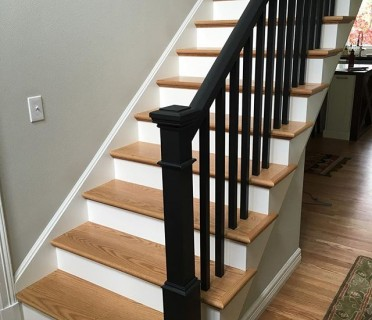 Деревянная лестница ДЛБ08
