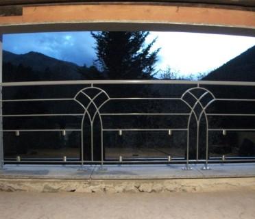 Кованое ограждение балкона БК85