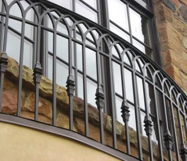 Кованое ограждение балкона БК86