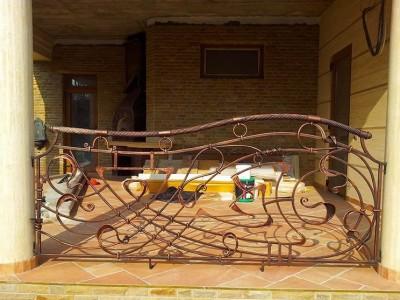 Ограждение кованое уличное ОГКУ01