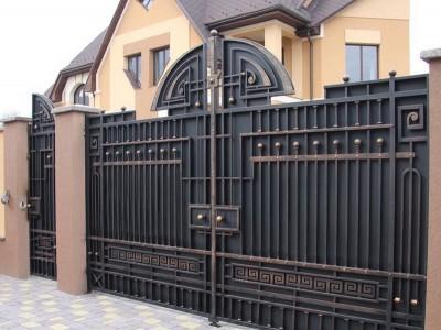 Ворота кованые ВК04