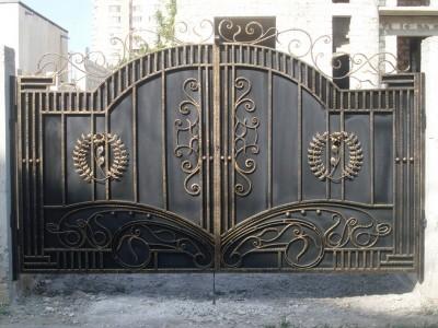 Ворота кованые ВК06