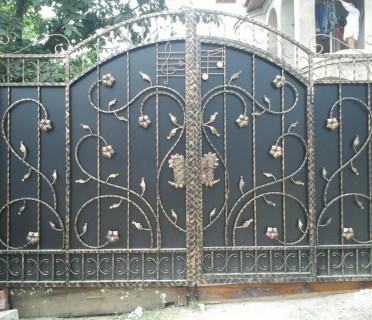Ворота кованые ВК09