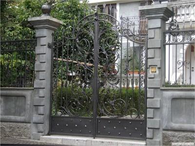 Ворота кованые ВК10